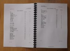 BV206. Articulated carrier.Illustrated parts list.V6 Petrol